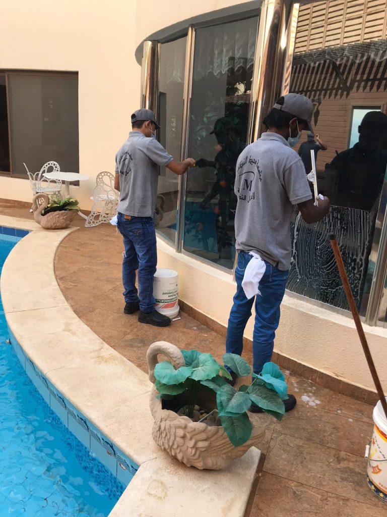 غسيل المنازل والشقق فى الرياض
